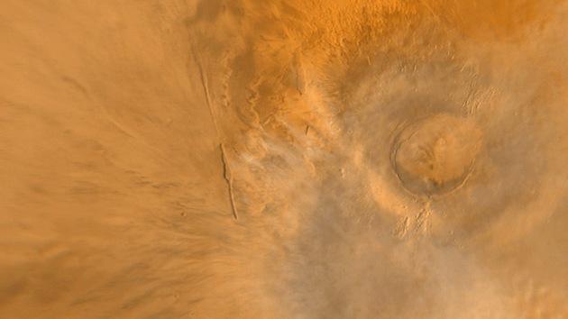 Marte habitable: científicos encuentran el volcán que pudo albergar vida