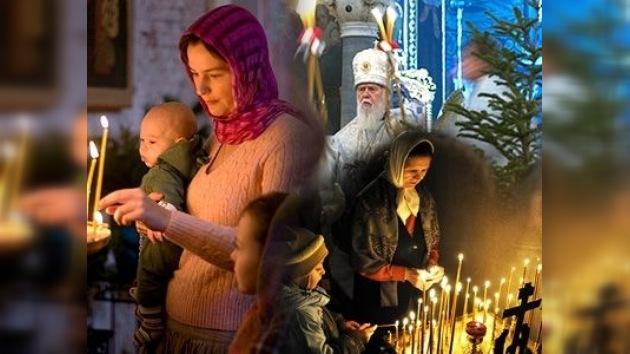 La Navidad Ortodoxa congrega a millones de cristianos en las iglesias de toda Rusia