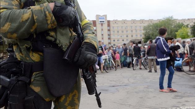 Ucrania quiere la provincia de Donetsk 'limpia' de autodefensas y colaboradores