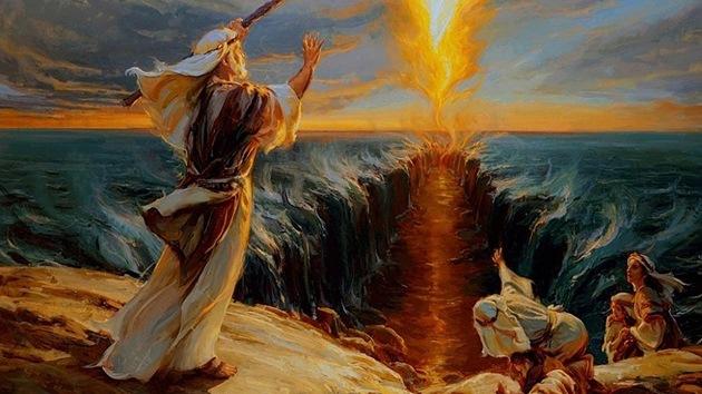 ¿Tiene la ciencia respuesta a la separación de las aguas del mar Rojo por Moisés?