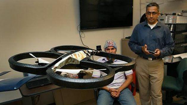 Desarrollan en EE.UU. drones que reciben órdenes mentalmente