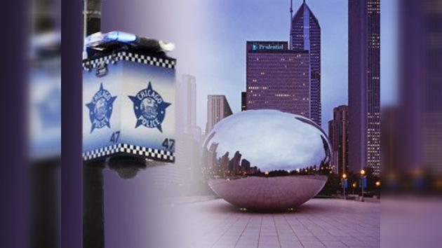 Una sofisticada red de cámaras de vigilancia cubre Chicago