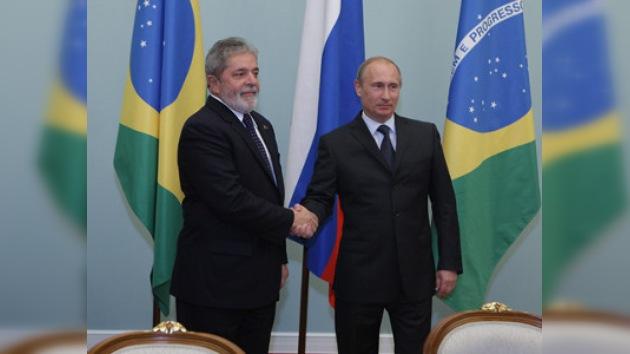 Rusia y Brasil tienen ambiciosos planes en energía, espacio y armamento