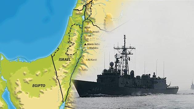 Israel se prepara contra posibles ataques terroristas a sus naves en el Mar Rojo