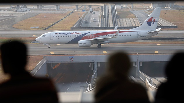 El avión desaparecido de Malasia