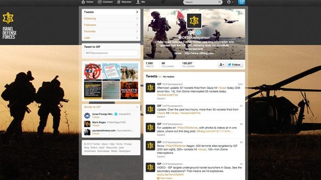 Redes sociales: otra arma de Israel contra Hamás