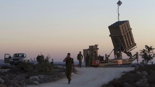 Israel despliega su sistema antimisiles Cúpula de Hierro cerca de Jerusalén