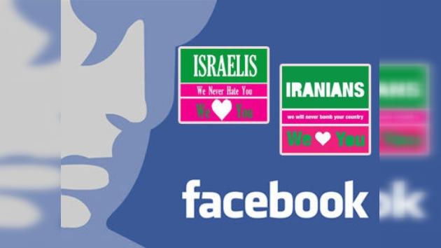 Irán e Israel se quieren en Facebook