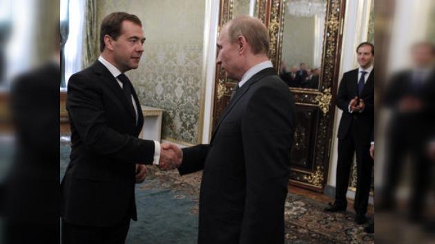 El Gobierno ruso cambia de manos