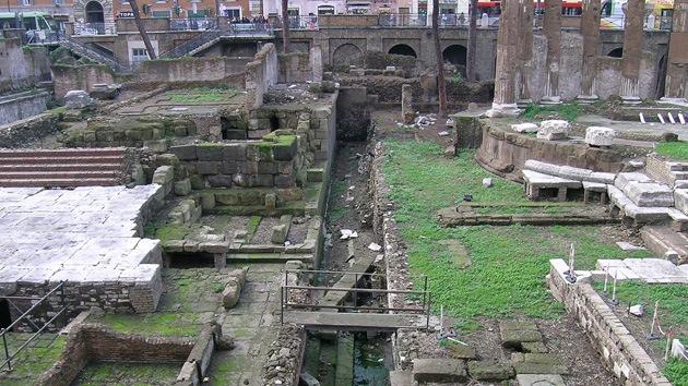 Localizan el punto exacto donde Julio César cayó asesinado