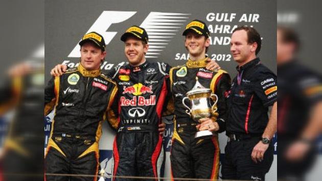 Vettel gana en Bahréin y es nuevo líder del Mundial de la Fórmula Uno