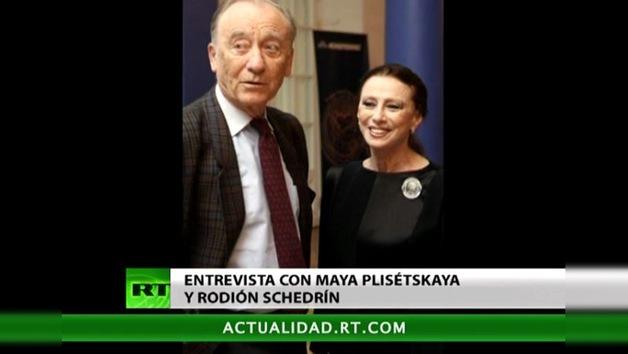 Entrevista con una legendaria unión matrimonial artística, Maya Plisétskaya y Rodión Schedrín