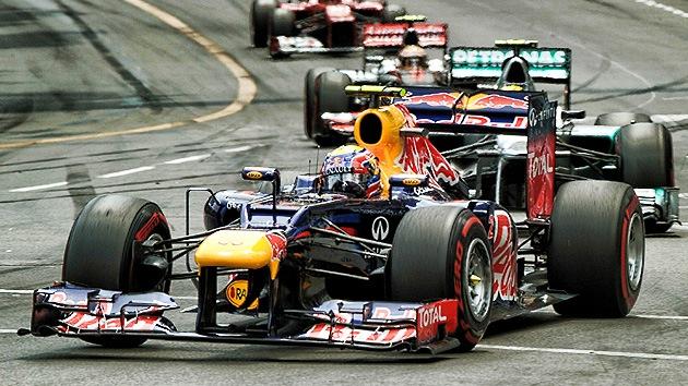 Mark Webber se coronó campeón en el Gran Premio de Mónaco