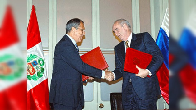 Fueron cancelados los visados entre Rusia y Perú