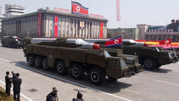 EE.UU. y Corea del Sur: Pyongyang ha trasladado un misil hacia la costa este