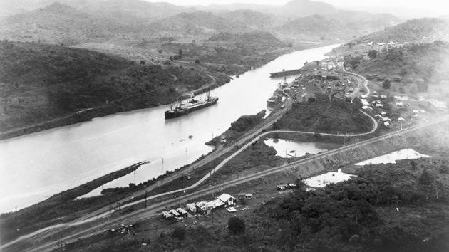 El canal de Panamá se acerca a su centenario