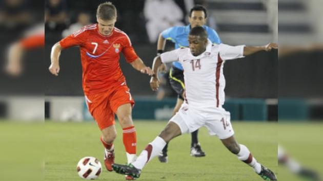 Rusia iguala con Catar y prolonga la mala racha en partidos amistosos