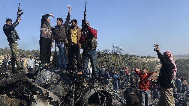 ¿Con qué  'alimenta' Occidente a los rebeldes sirios?
