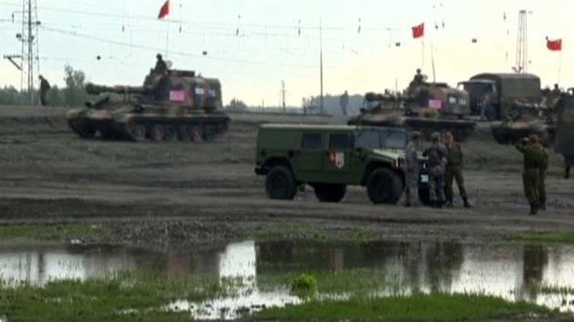 Video: Tanques chinos llegan a Rusia para participar en ejercicios antiterroristas