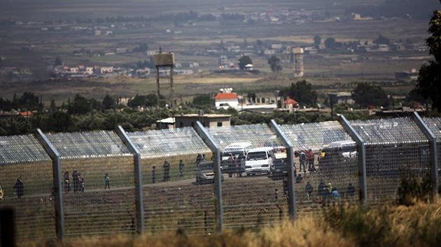 Siria: El vehículo israelí destruido en los Altos del Golán iba rumbo a un pueblo rebelde