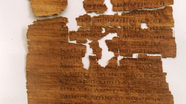 Un antiguo certificado de matrimonio demuestra que Judas quizá no fue un traidor