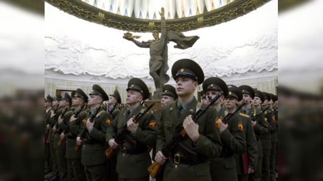 Hoy es día de juramento del regimiento más prestigioso de Rusia