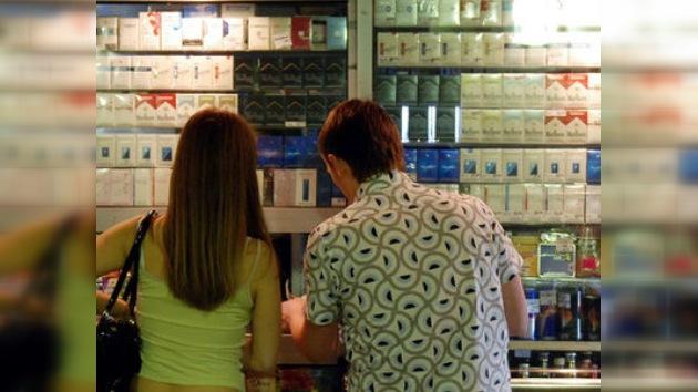 Rusia establece medidas fiscales para reducir el consumo de tabaco
