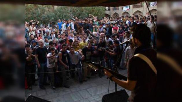 Rock en vivo en Afganistán tras 30 años
