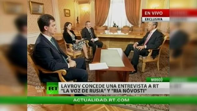 """Lavrov: """"El nuevo tratado sobre START está preparado en un 95%"""""""
