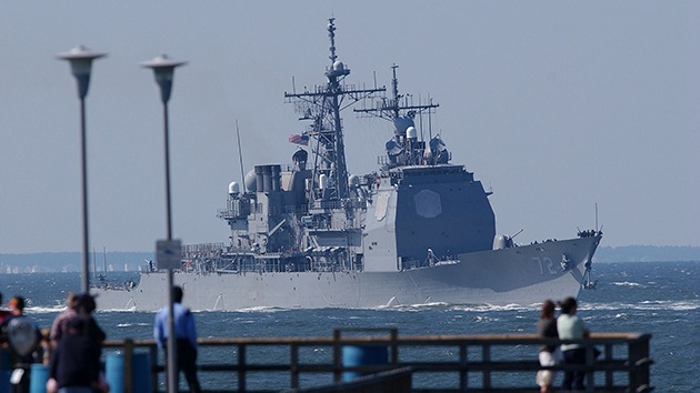 EE.UU. envía otro gran buque al Mar Negro