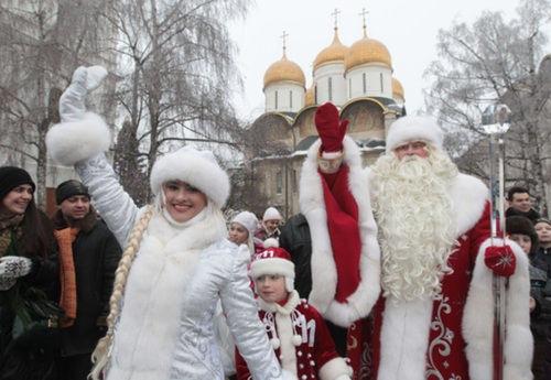 Conozca a la guapa Snegúrochka sin la que en Rusia no empieza la Nochevieja