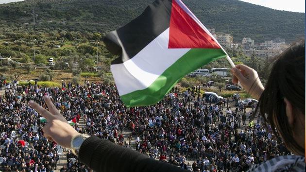 """Protesta global de jóvenes palestinos por el """"plan criminal"""" de Israel contra los beduinos"""