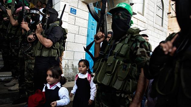 Video, Fotos: Los niños de Gaza vuelven a sus escuelas destruidas