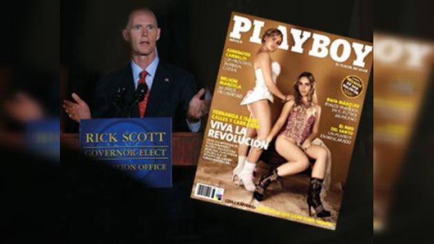 El gobernador de Florida, acusado de invertir en negocios eróticos