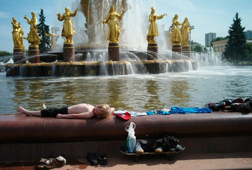 Moscú bate nuevos récords de temperatura