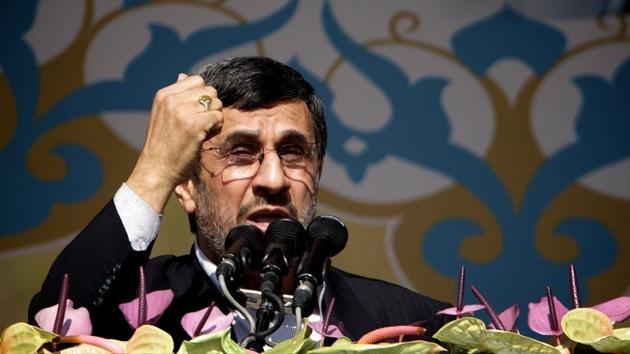 """Ahmadineyad a EE.UU.: """"Dejen de apuntar a Irán y negociaré con ustedes"""""""