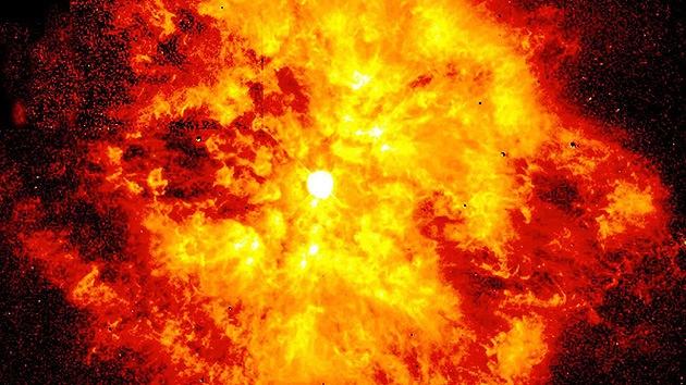 Una estrella amenaza con 'disparar' rayos gamma letales a la Tierra