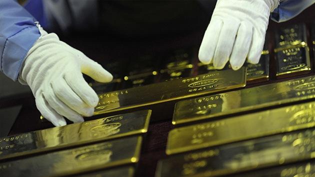 Rusia supera a EE.UU. en producción de oro por primera vez en 25 años