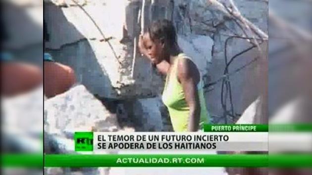 Nuevo terremoto remece a Haití