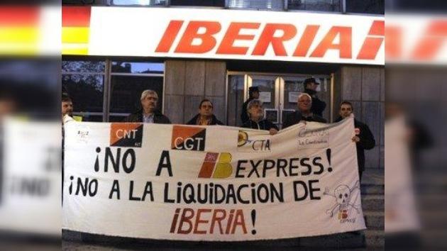 Nueva huelga en Iberia obliga a cancelar más de 150 vuelos