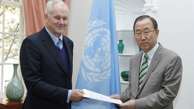 Ban entrega hoy el informe de la ONU sobre el ataque químico en Siria