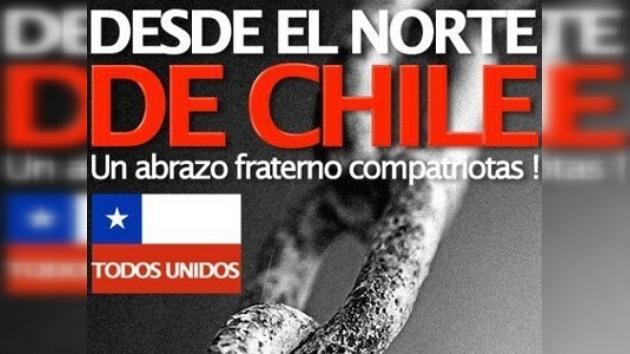 Internet, herramienta de solidaridad con Chile