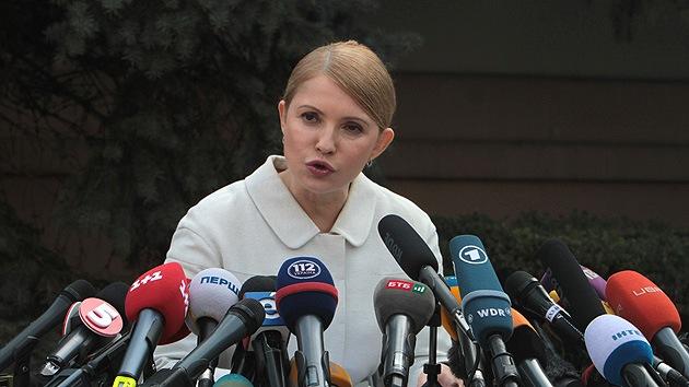 Timoshenko cancela su viaje a EE.UU. luego de que el Congreso se negara a reunirse con ella