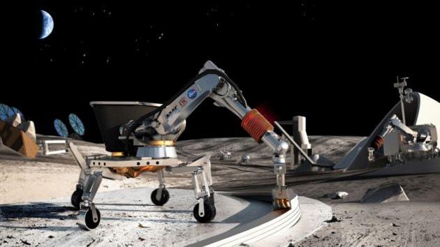 La Nasa planea erigir casas en la Luna con una impresora 3D