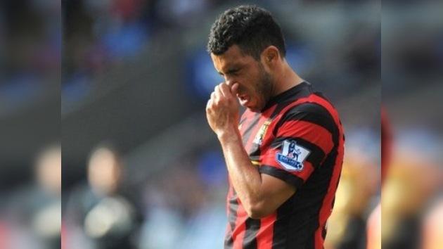 Tévez fue suspendido por dos semanas del Manchester City