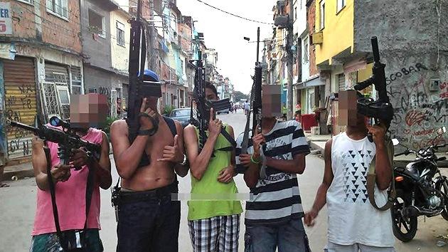 Fotos: Los narcos brasileños, aficionados a lucirse en las redes
