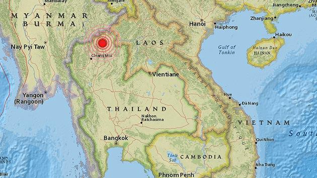 Un sismo de 6,3 sacude el norte de Tailandia