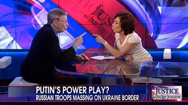 Un académico acusa en vivo a una presentadora de Fox de parcialidad sobre Ucrania