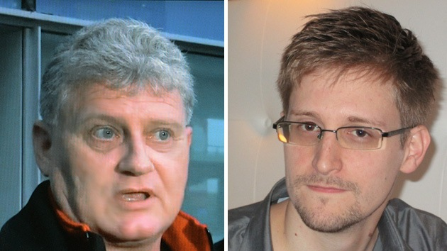 Edward Snowden se reunió con su padre