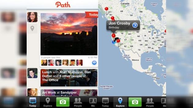 Path lanza un nuevo servicio de intercambio de fotos personales